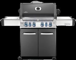Prestige® 500 Gas Grill with Infrared Side and Rear Burners, Grey