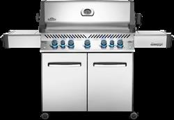 Prestige® 665 Gas Grill with Infrared Side and Rear Burners, Stainless Steel