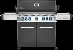 Prestige® 665 Gas Grill with Infrared Side and Rear Burners, Grey